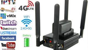 Metmar 4,5G/Wi-Fi/RJ45 Mobil Canlı Yayın Cihazı